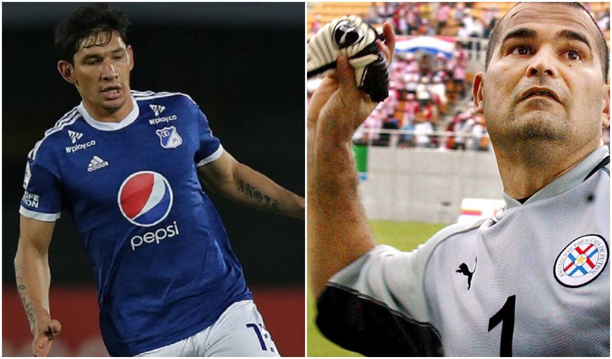 Roberto Ovelar y José Luis Chilavert