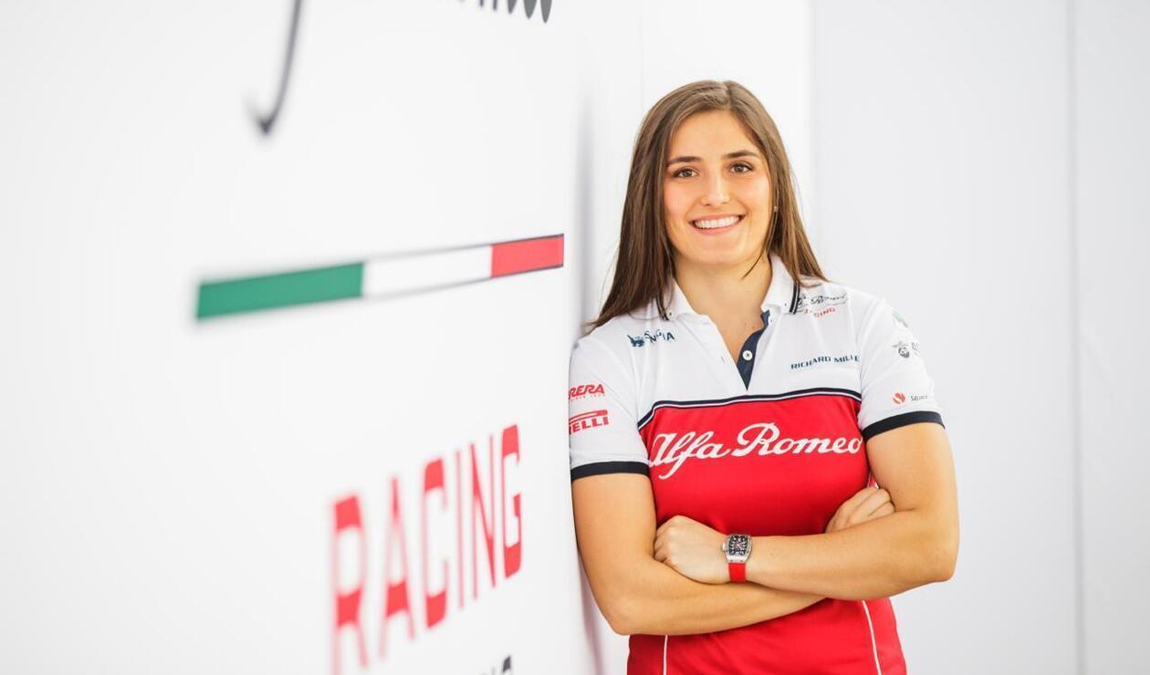Tatiana Calderón- con Alfa Romeo Racing