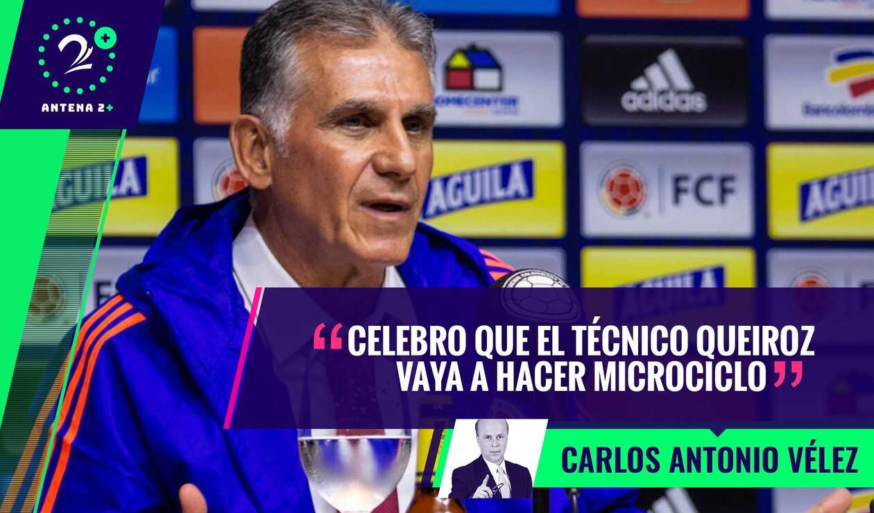 Carlos Queiroz, técnico de la Selección Colombia - Palabras Mayores