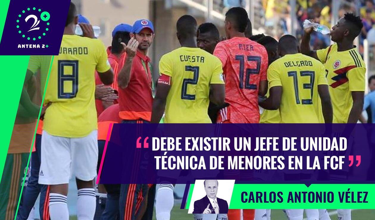 Selección Colombia Sub-20 - Palabras Mayores
