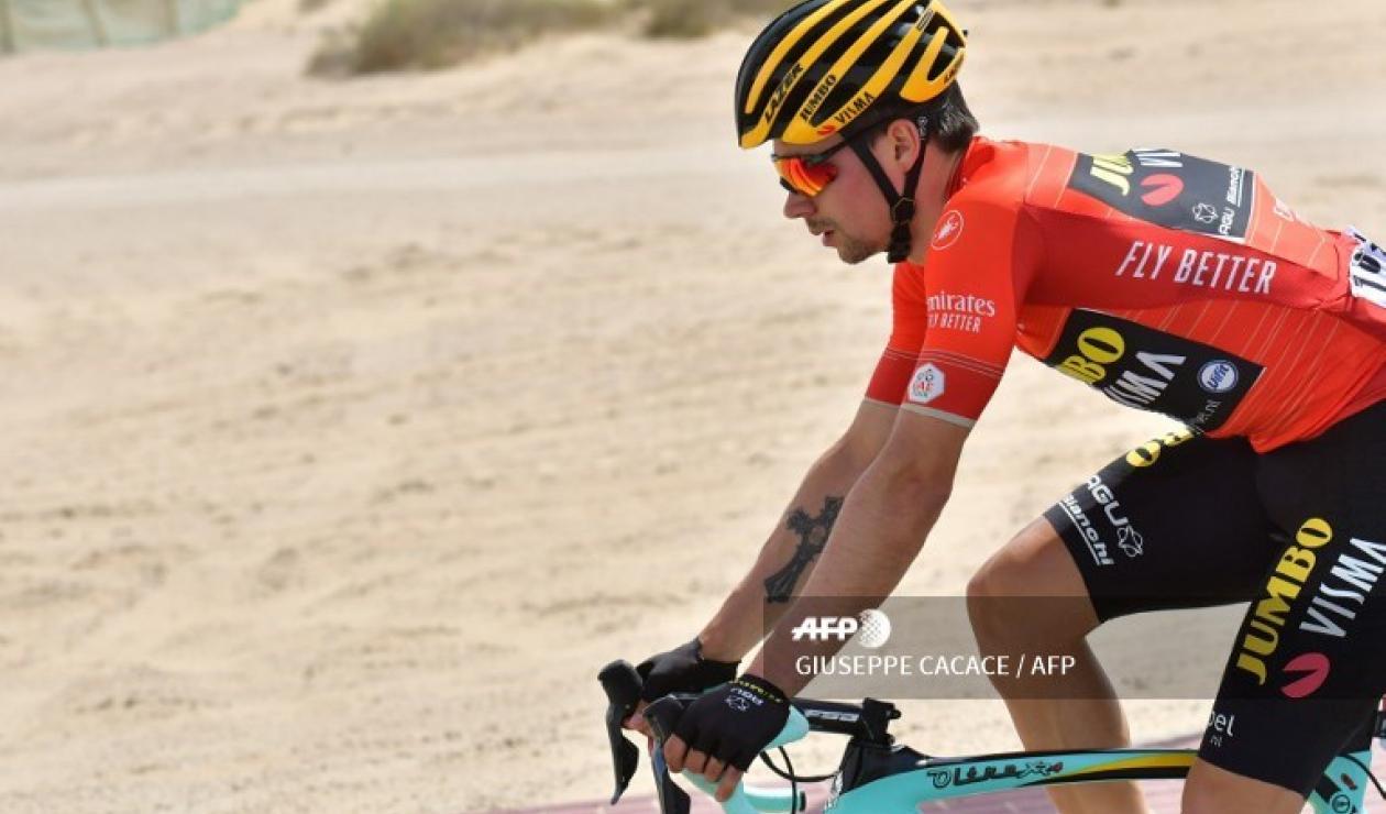 Primoz Roglic (Jumbo Visma) dio el golpe definitivo al Tour de los Emiratos con una inapelable victoria en la etapa reina