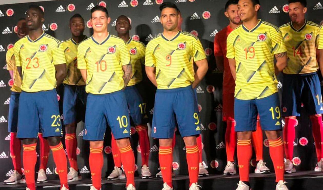 Nueva Camiseta De Colombia 2019 Detail: Selección Colombia Tiene Nueva Camiseta. ¡OFICIAL!