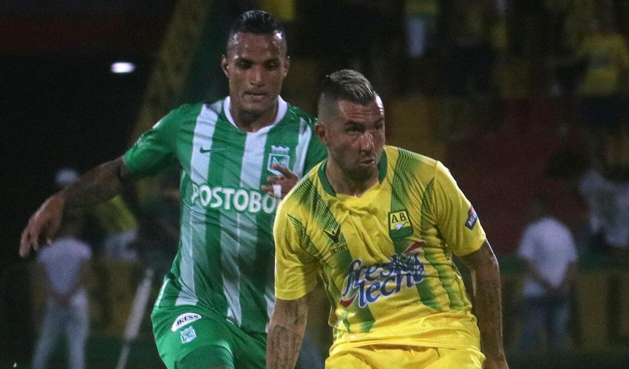 Jhon Pérez, jugador del Atlético Bucaramanga