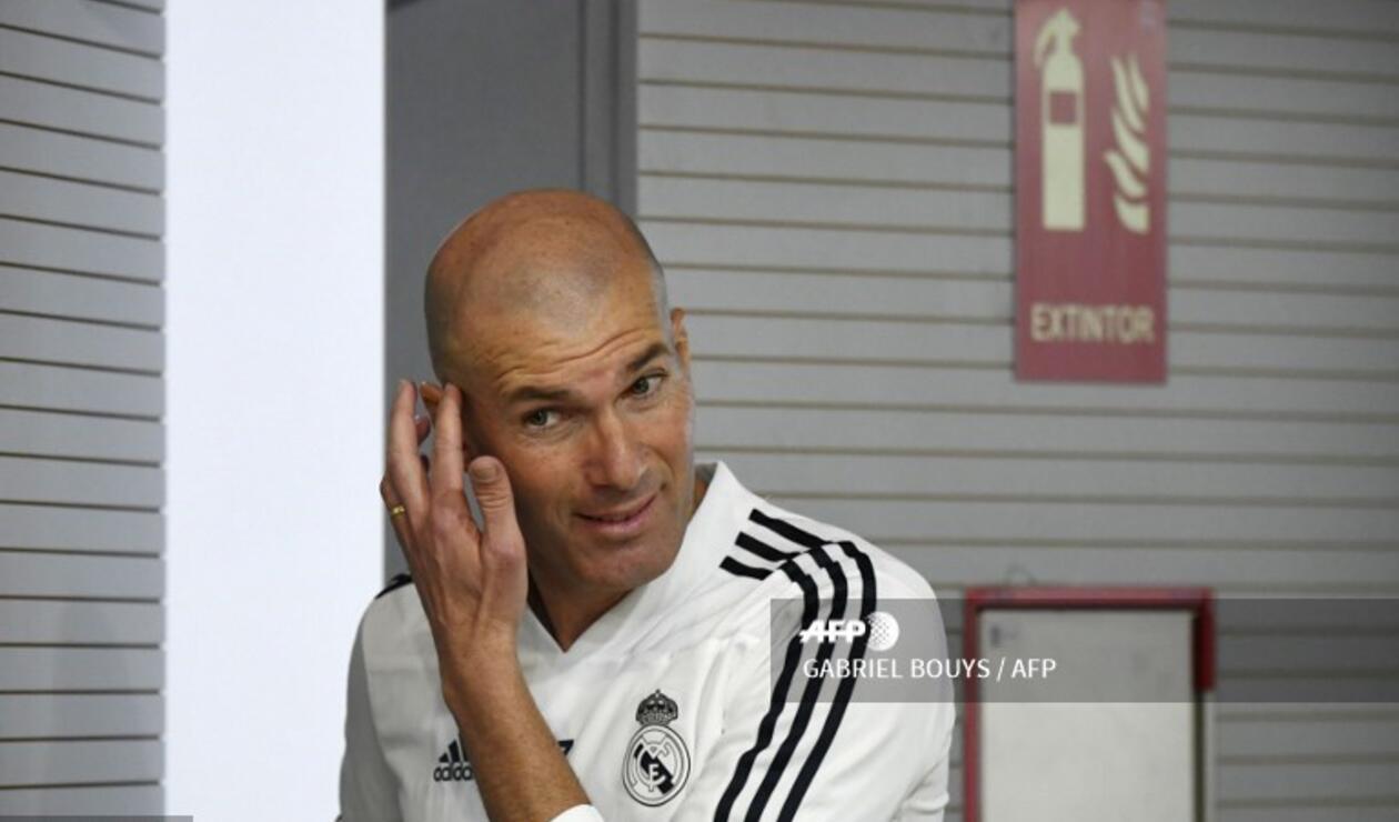 Zinedine Zidane elogió al francés Paul Pogba