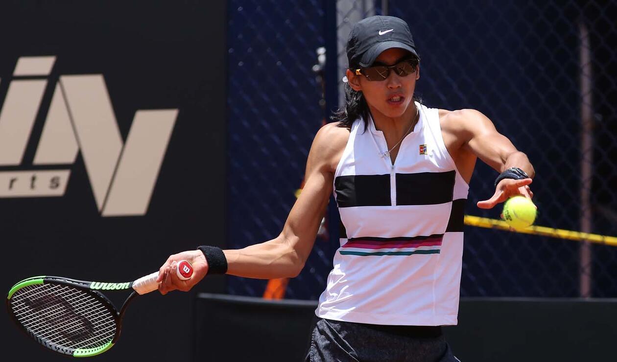 La australiana Astra Sharma venía de vencer a la española Lara Arruabarrena,