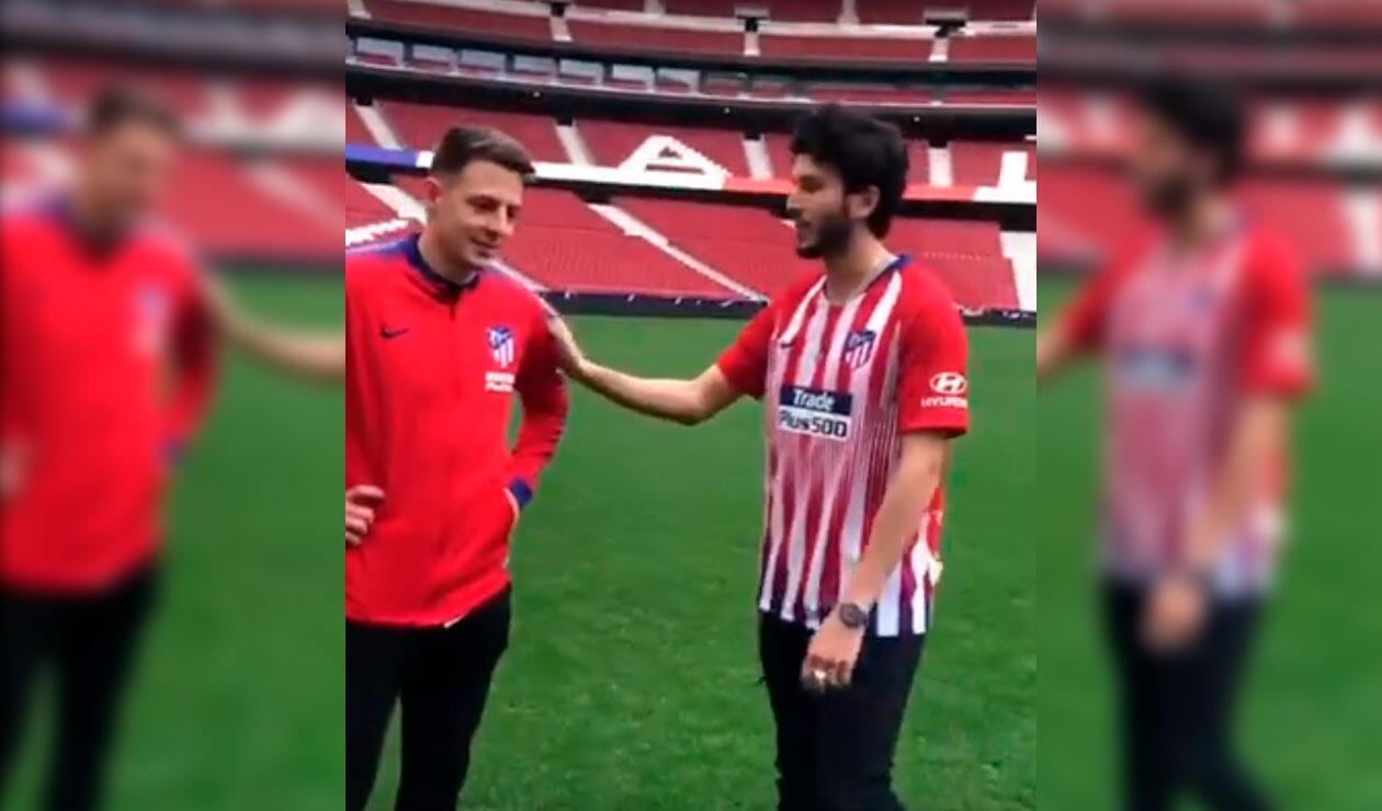 Sebastián Yatra y Santiago Arias