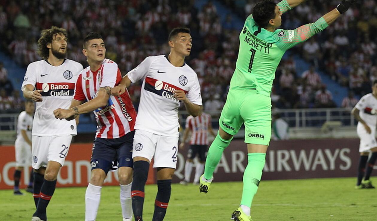 Junior vs San Lorenzo