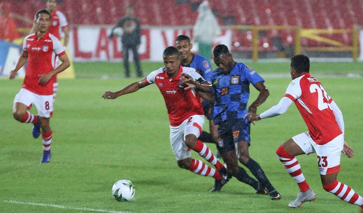 Santa Fe empató contra el Chicó en la Copa Águila
