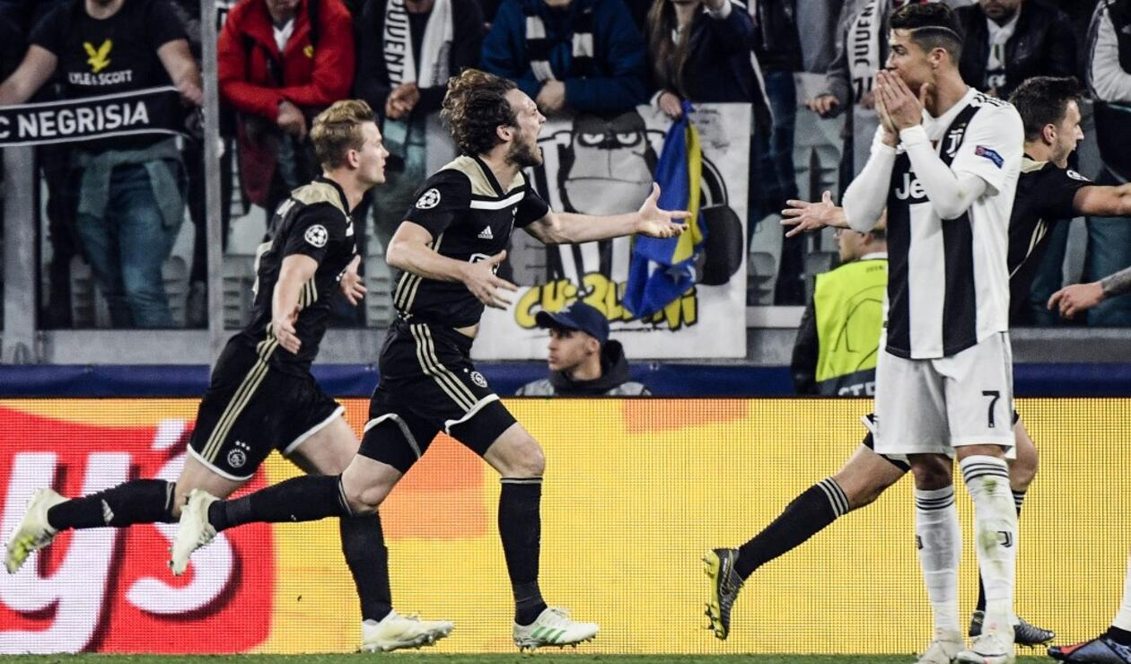 Juventus vs Ajax - Champions League