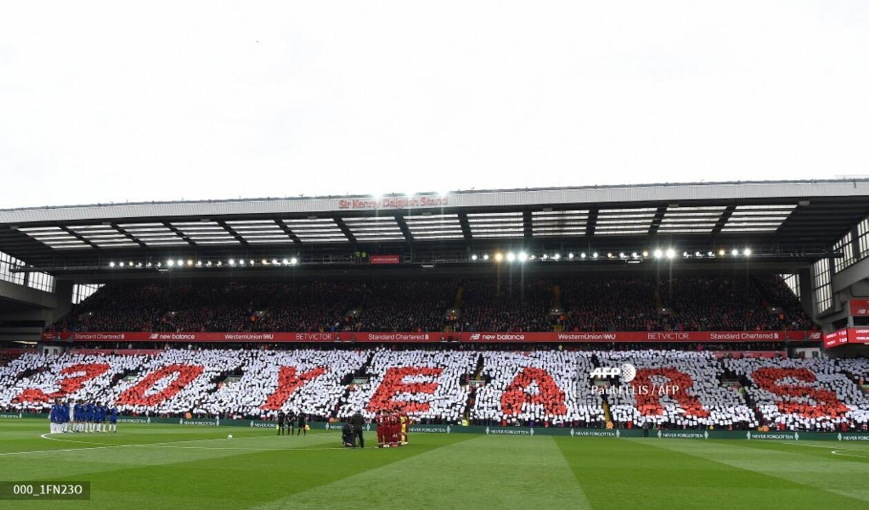Liverpool recuerda a las víctimas de la tragedia de Hillsborough