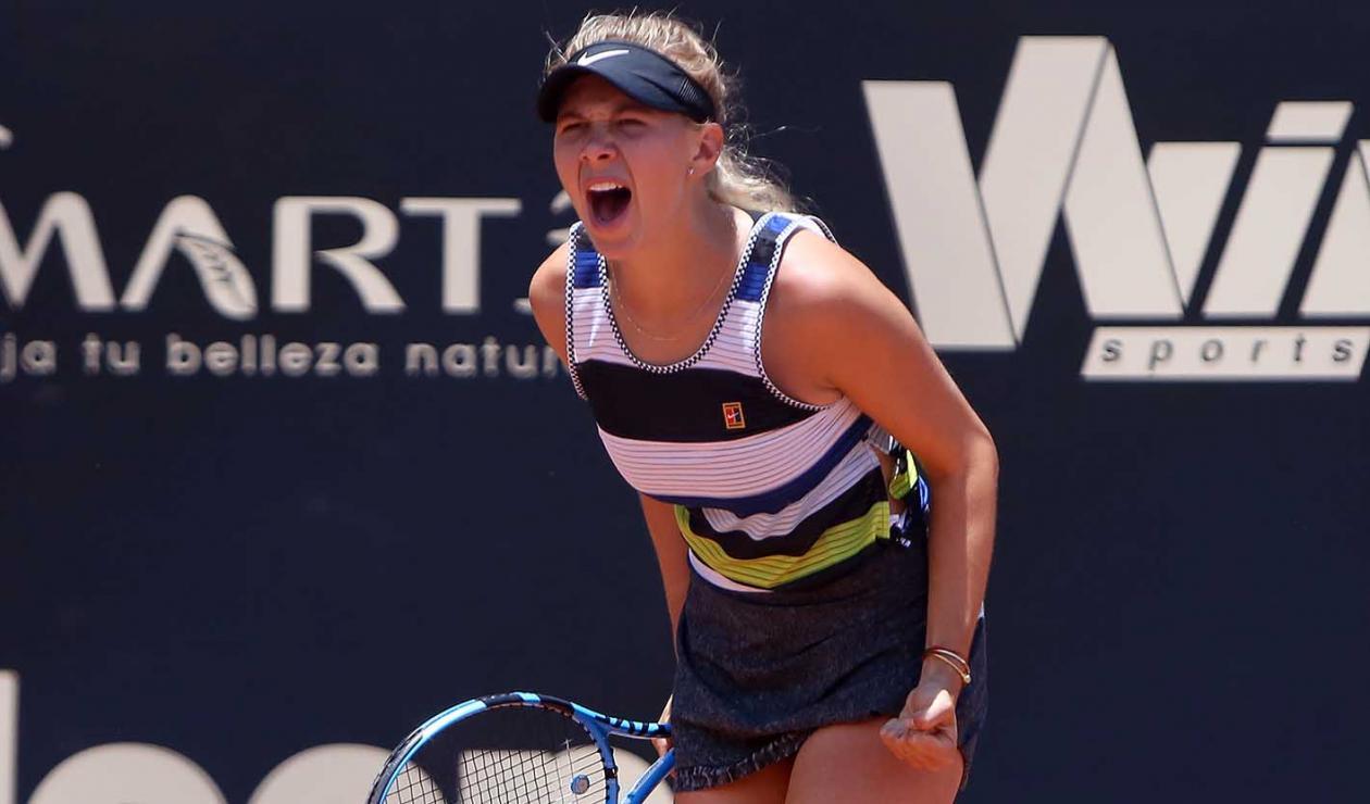 Amanda Anisimova se coronó campeona en el Claro Open Colsánitas