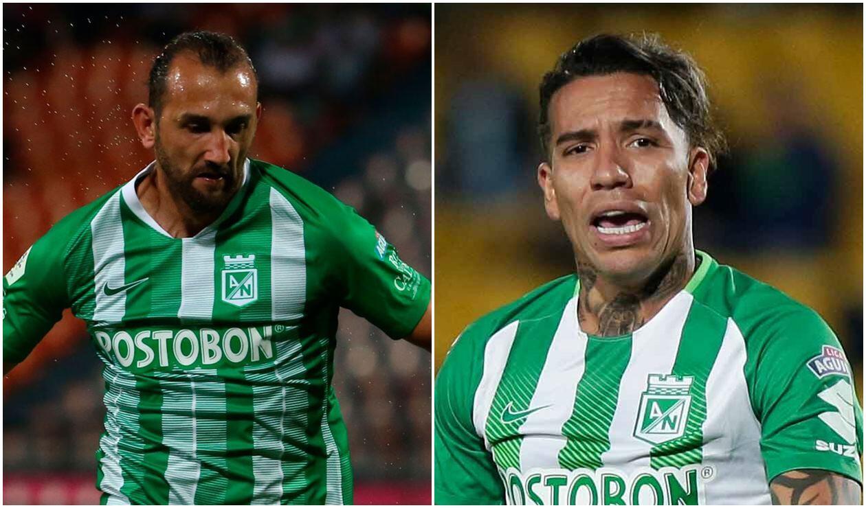 Hernán Barcos y Dayro Moreno