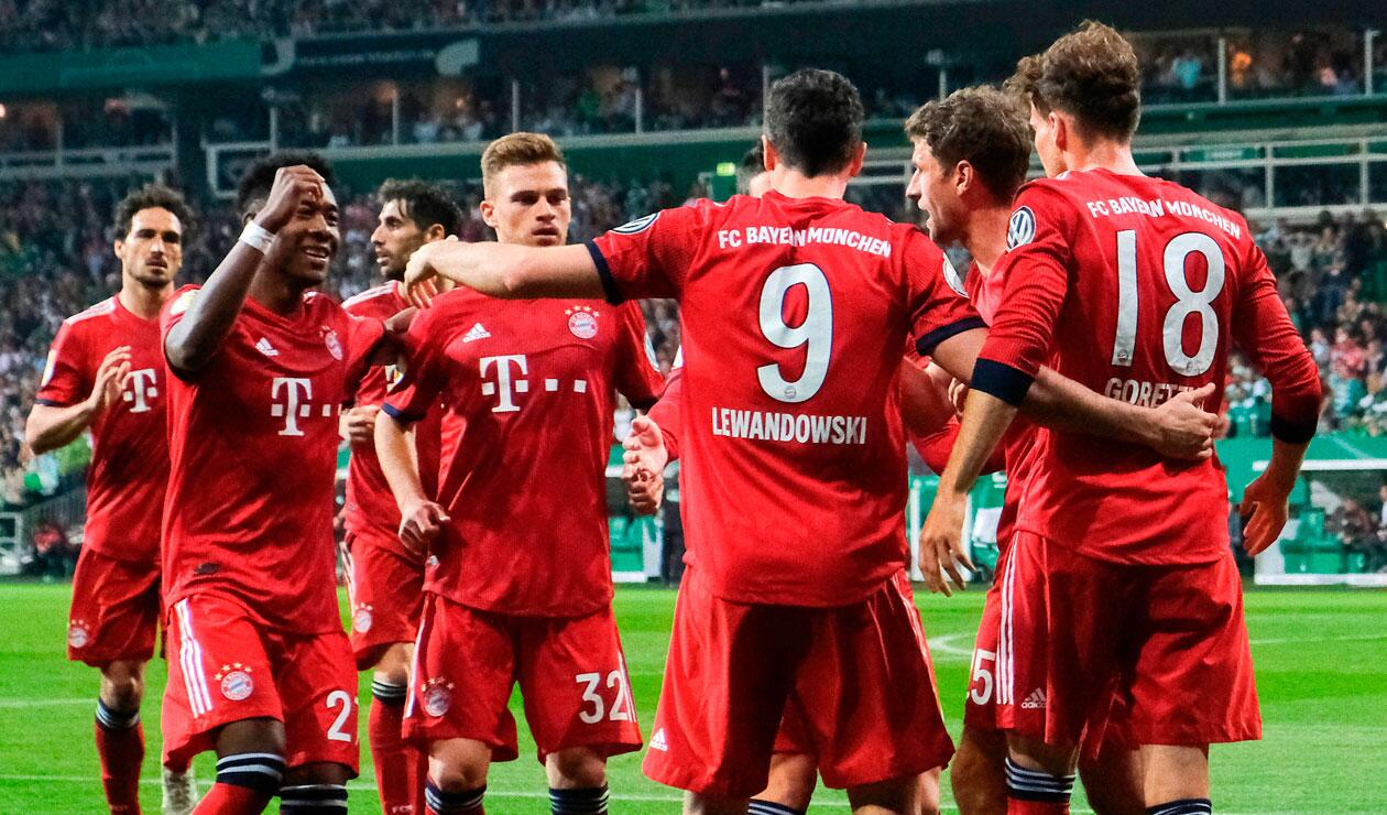 Bayern Munich decidió homenajear a dos equipos del Carmen de Bolívar