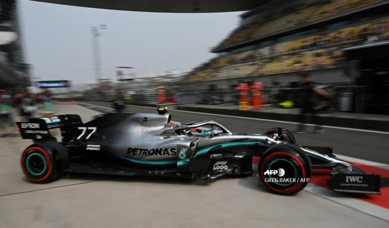 Valtteri Bottas se llevó la 'pole' en el Gran Premio de China de Fórmula 1 2019