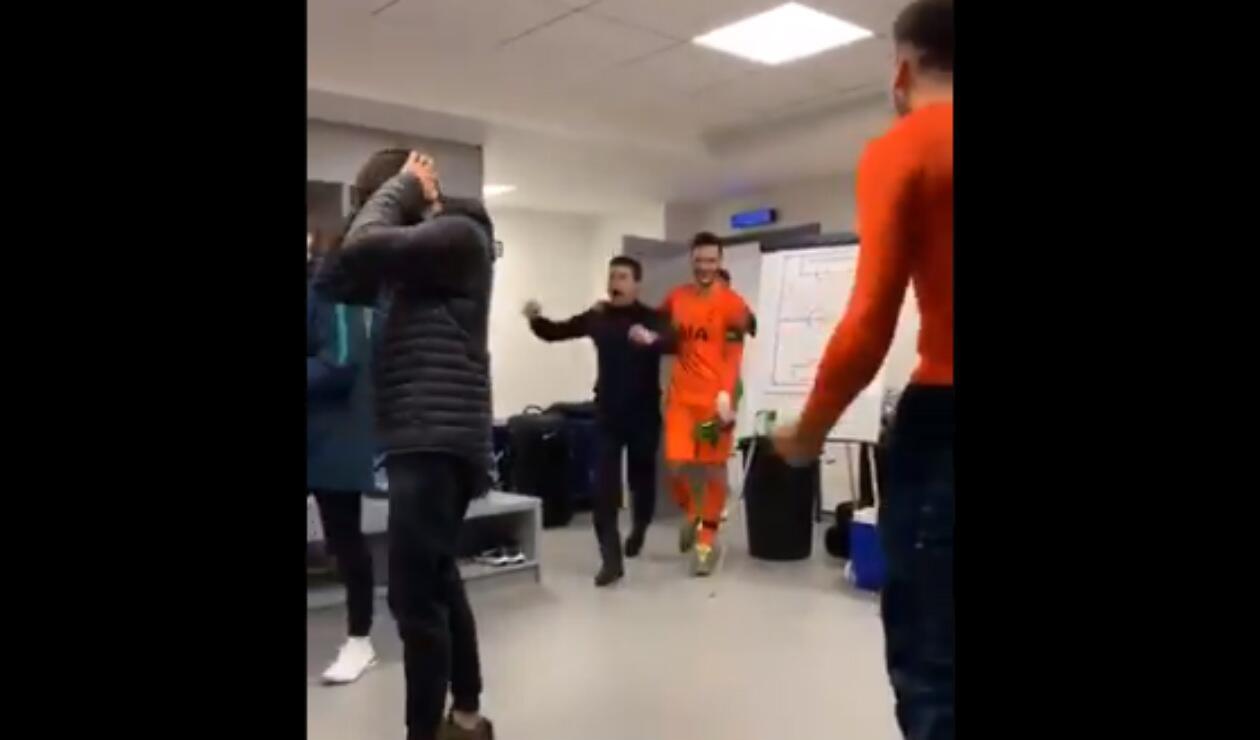 Celebración de Tottenham