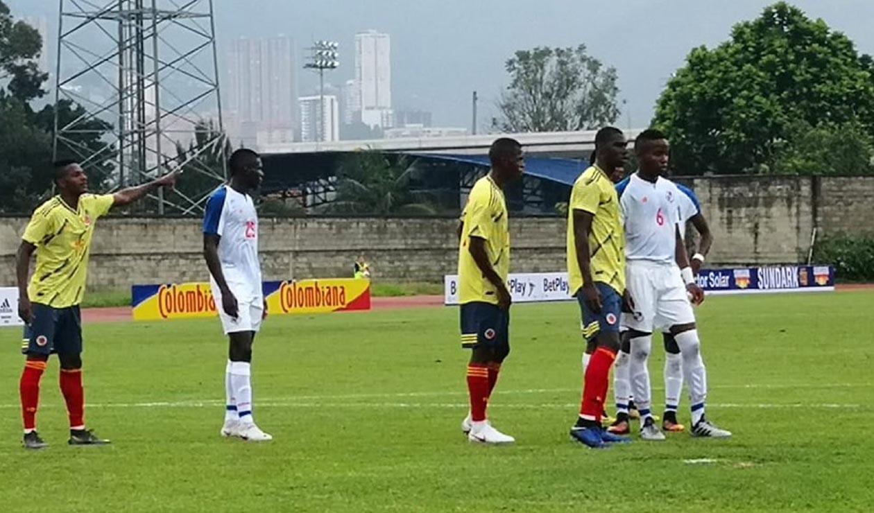 Colombia Sub 20 vs Panamá