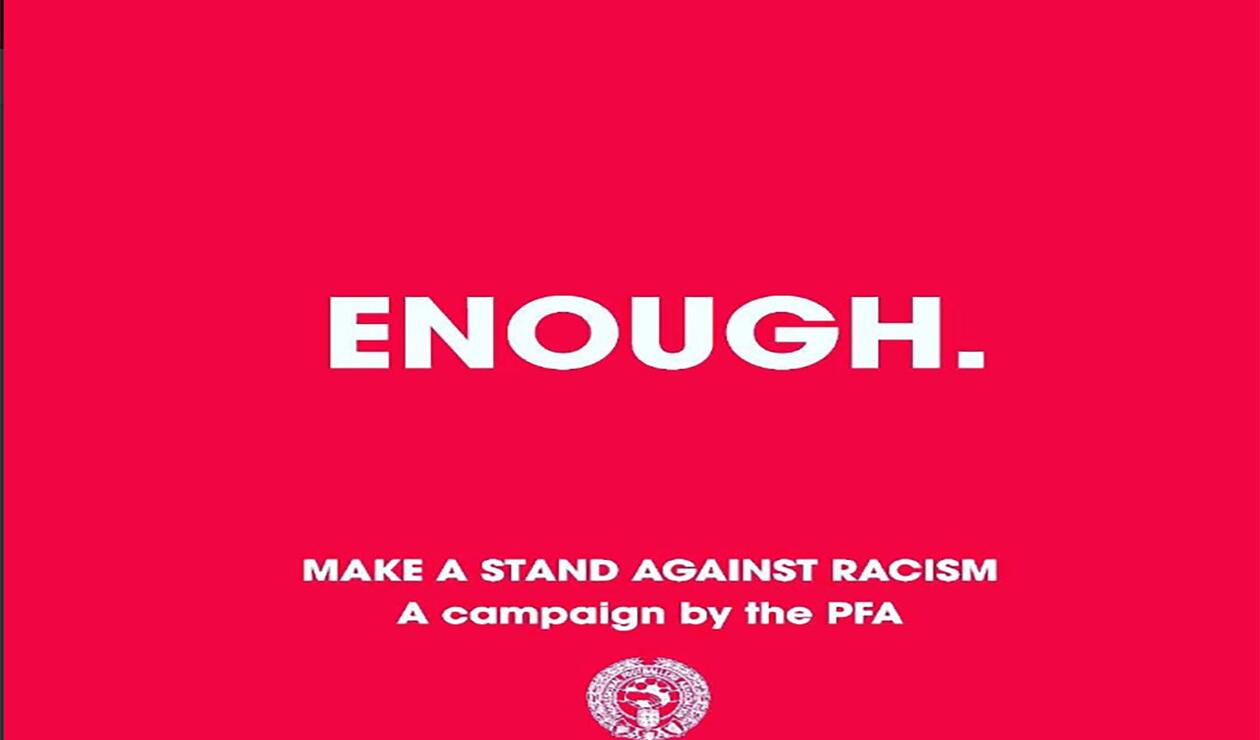 #Enough lema contra el racismo
