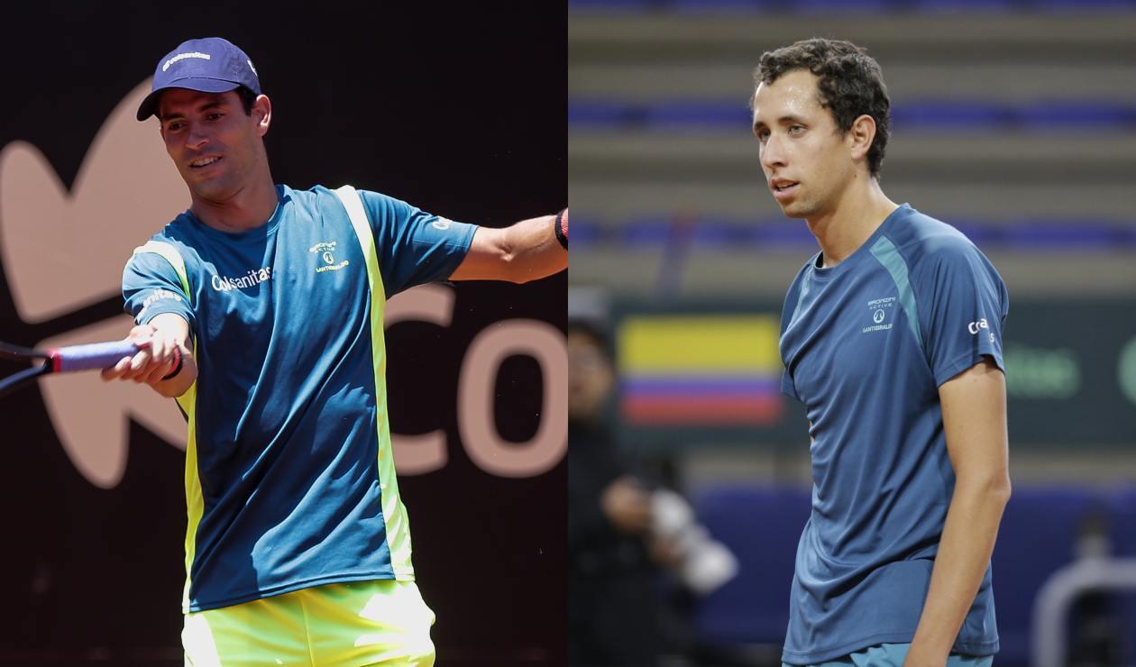Santiago Giraldo y Daniel Galán