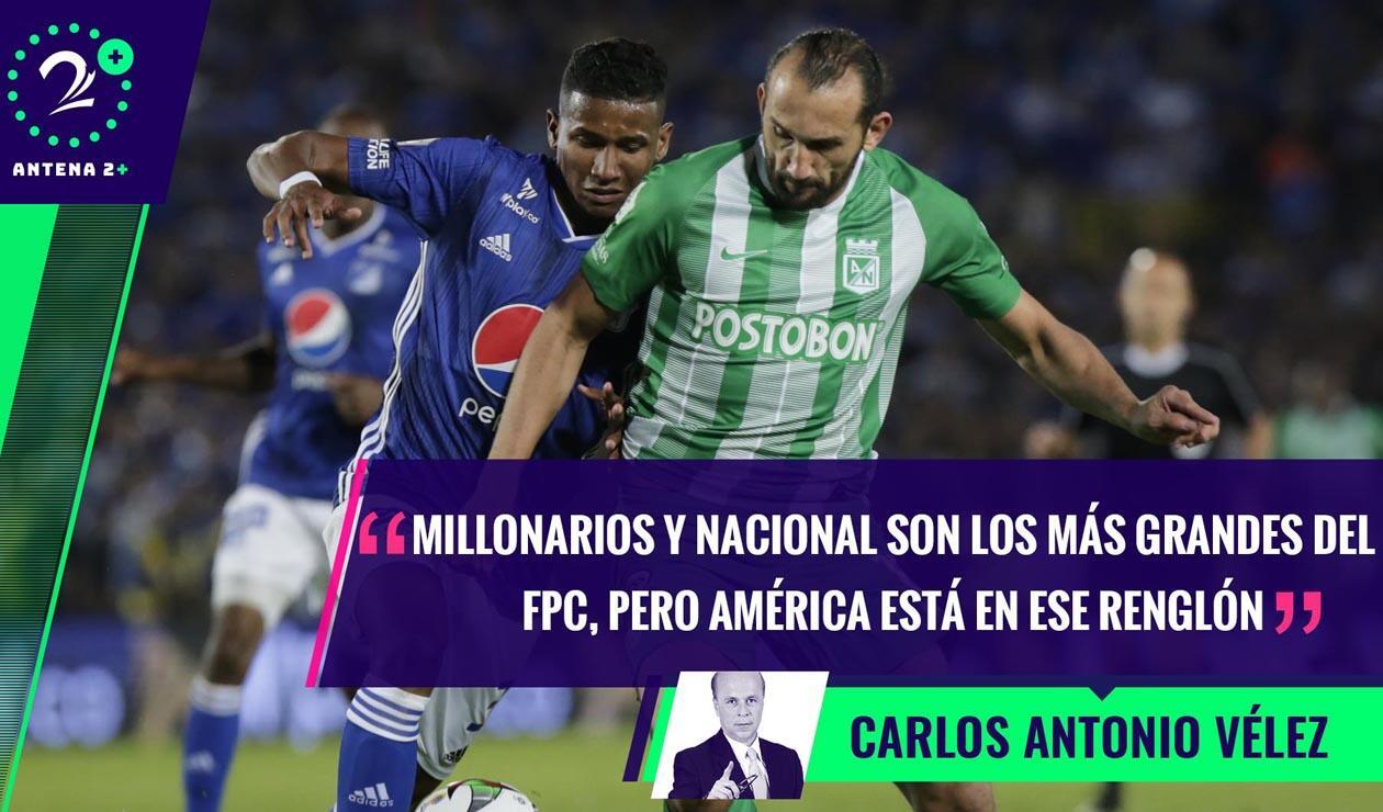Millonarios vs Atlético Nacional 2019