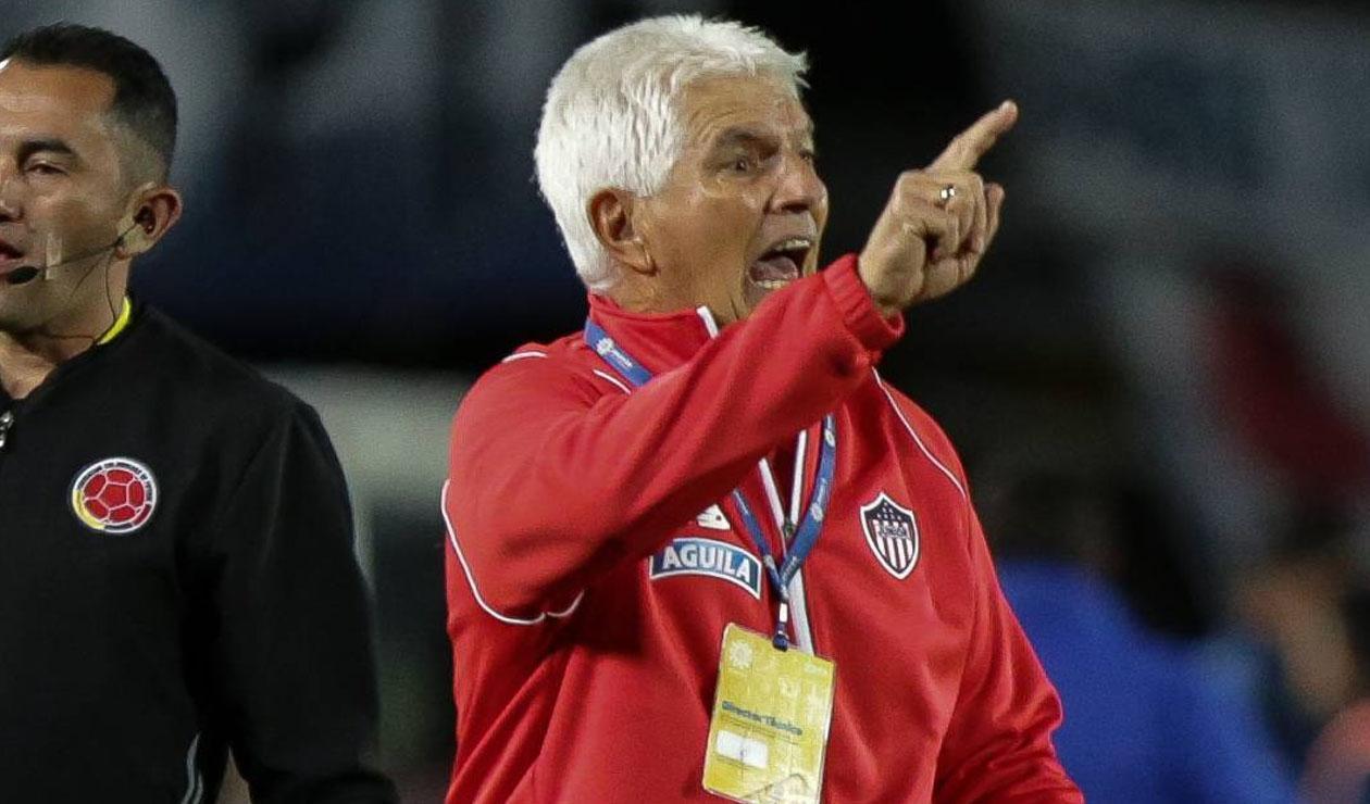 Julio Comesaña, técnico del Junior de Barranquilla