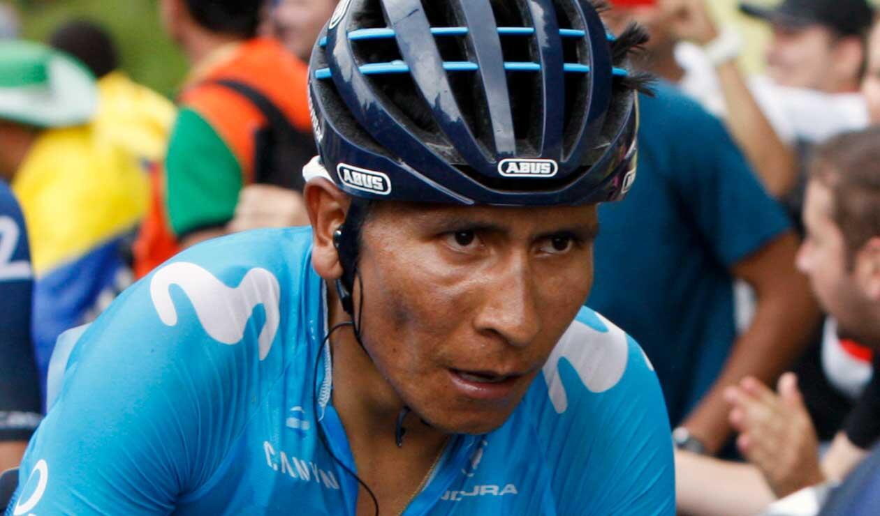 Nairo Quintana concluye contrato en 2019 con el Movistar