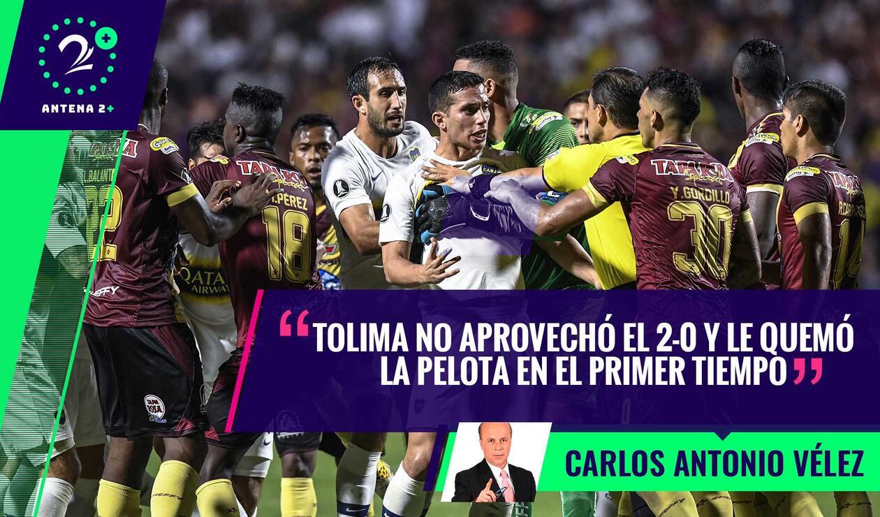Deportes Tolima - Boca Juniors, Copa Libertadores