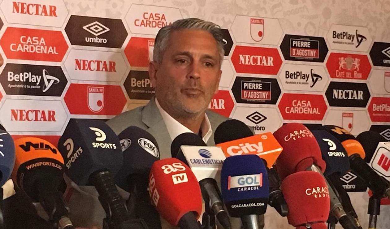 Patricio Camps, nuevo técnico de Independiente Santa Fe