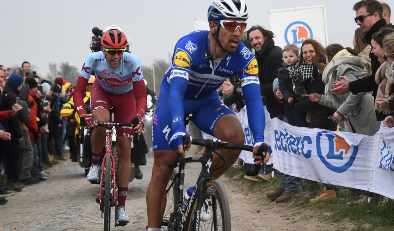 Philippe Gilbert, ciclista del Team Emirates