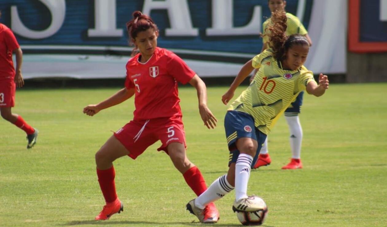 Colombia femenina vs Perú