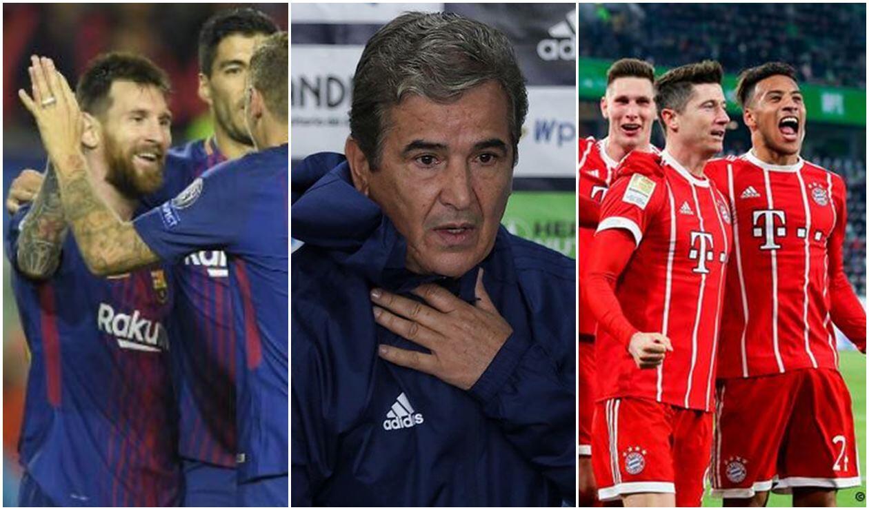 Barcelona, Jorge Luis Pinto y Bayern Múnich