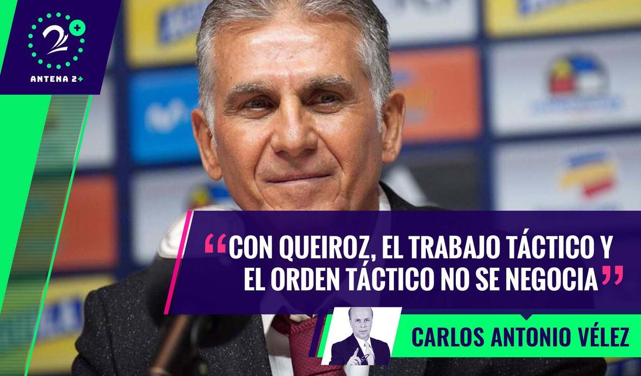 Carlos Queiroz, técnico de Colombia - Palabras Mayores