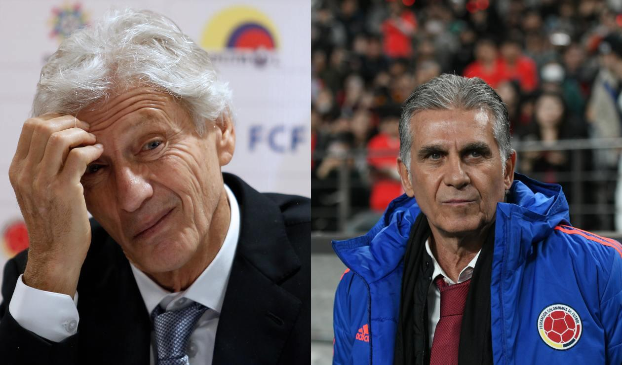Carlos Queiroz y José Pekerman
