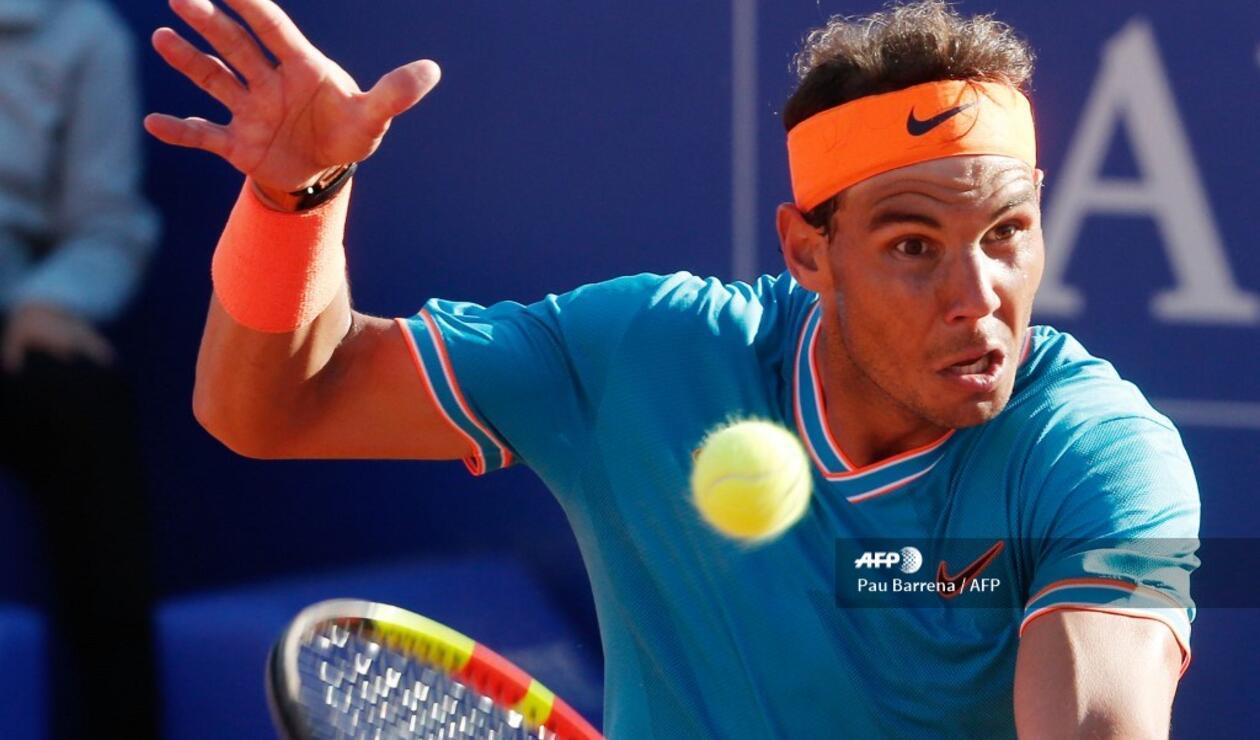 Rafael Nadal en semifinales del ATP 500 de Barcelona