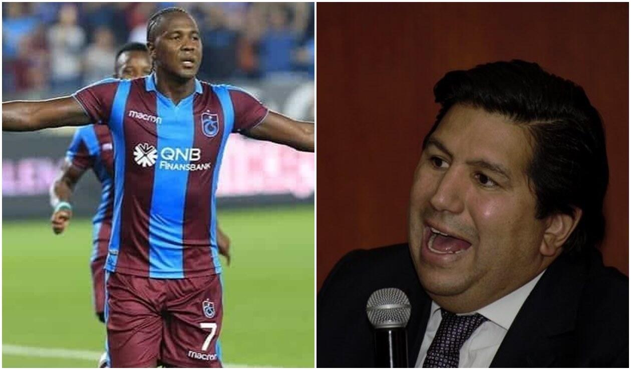 Hugo Rodallega y Juan Andrés Carreño
