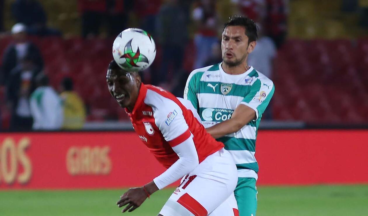 Santa Fe, tras el empate ante La Equidad, llegó a 15 fechas sin ganar en la Liga Águila.