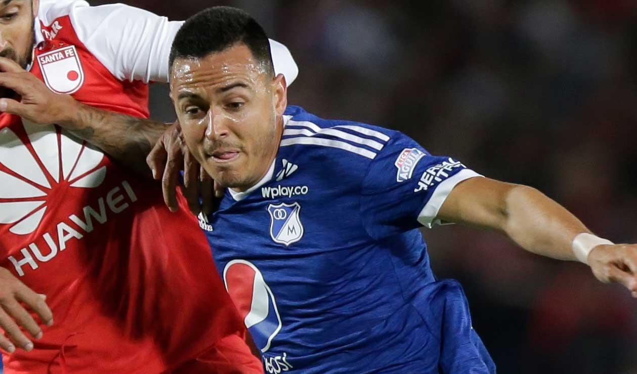 Santiago Montoya se perdería el partido ante Santa Fe en la Liga Águila.