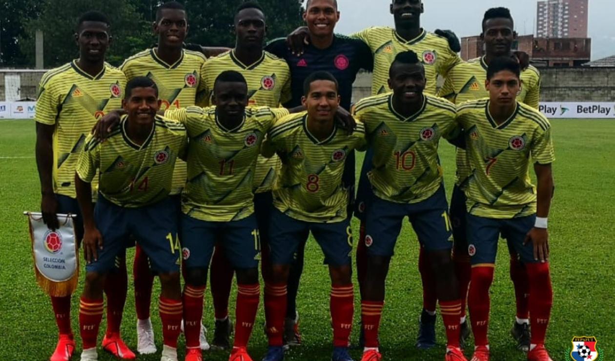 Selección Colombia Sub 20 empató con Panamá