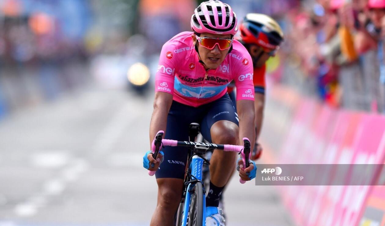 El Giro de Italia sigue con Richard Carapaz como líder