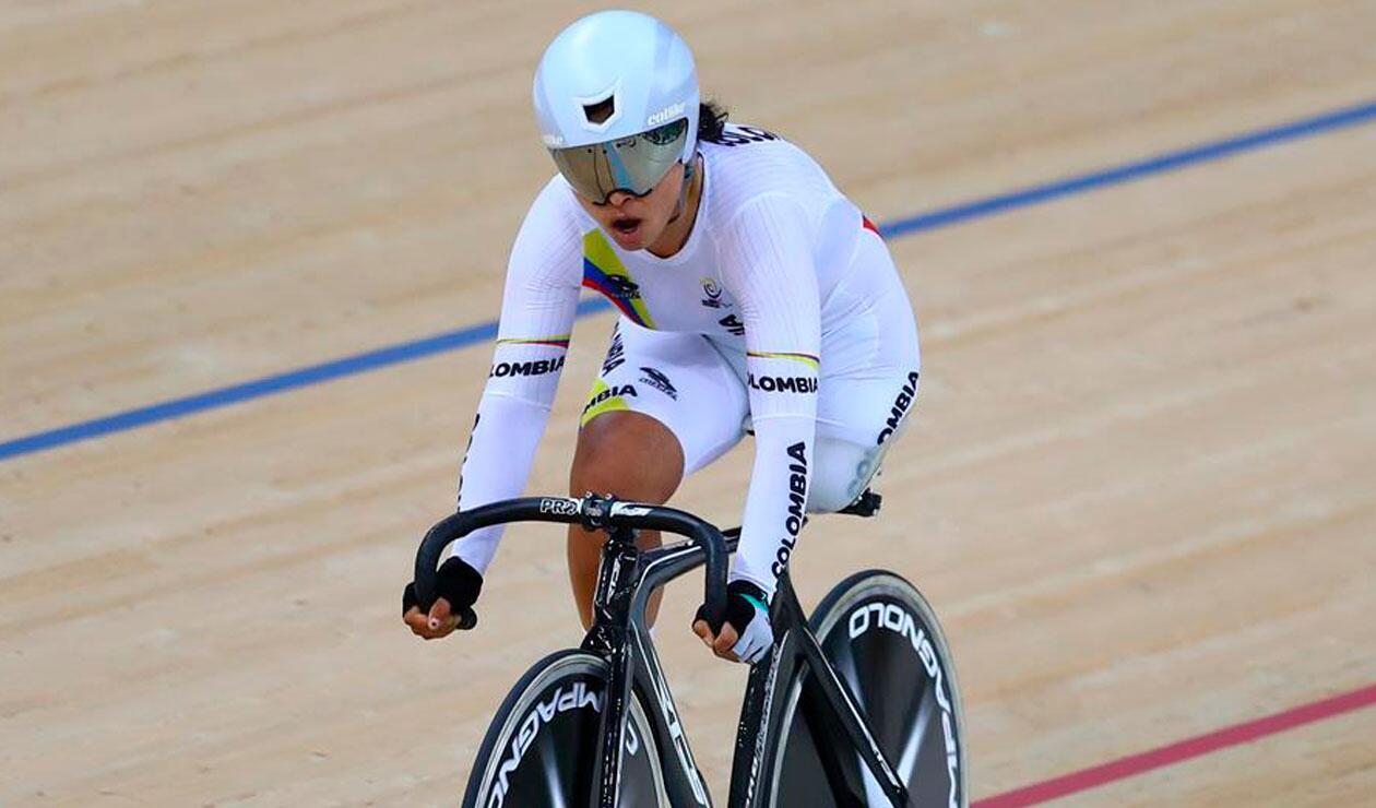 Carolina Munévar, oro para Colombia en copa mundo de paracycling