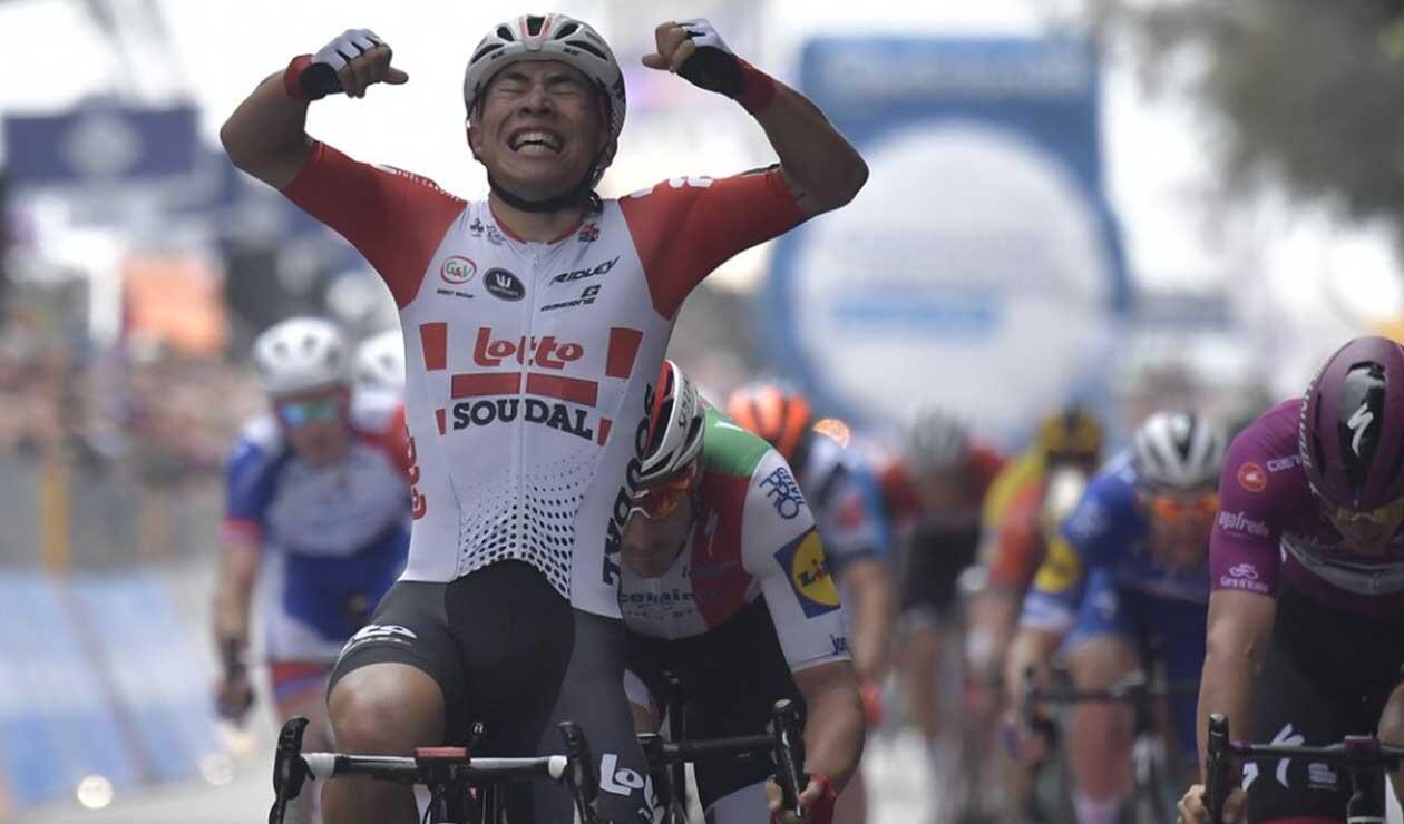 Caleb Ewan ganó la octava etapa del Giro de Italia