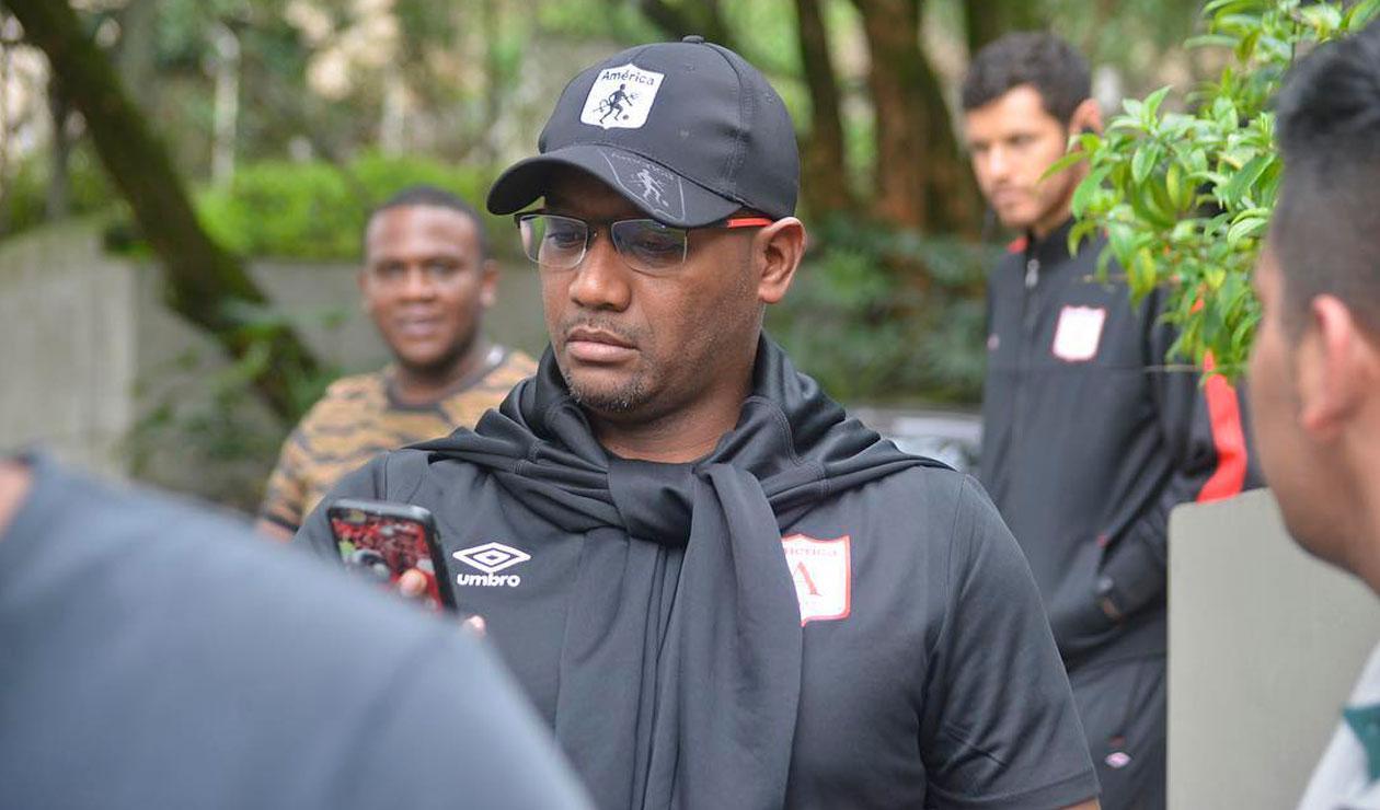 Jersson González, técnico del América de Cali.