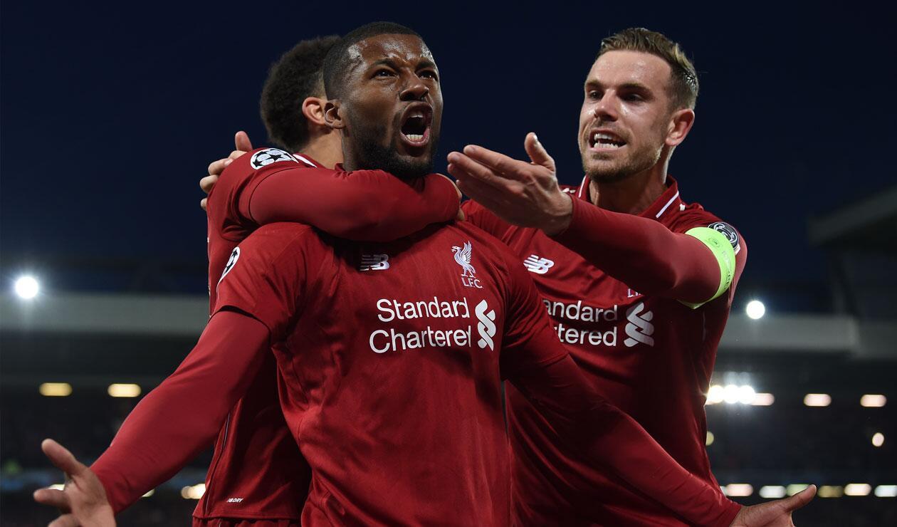 Liverpool pasó de largo en el partido de vuelta ante Barcelona en la Champions.