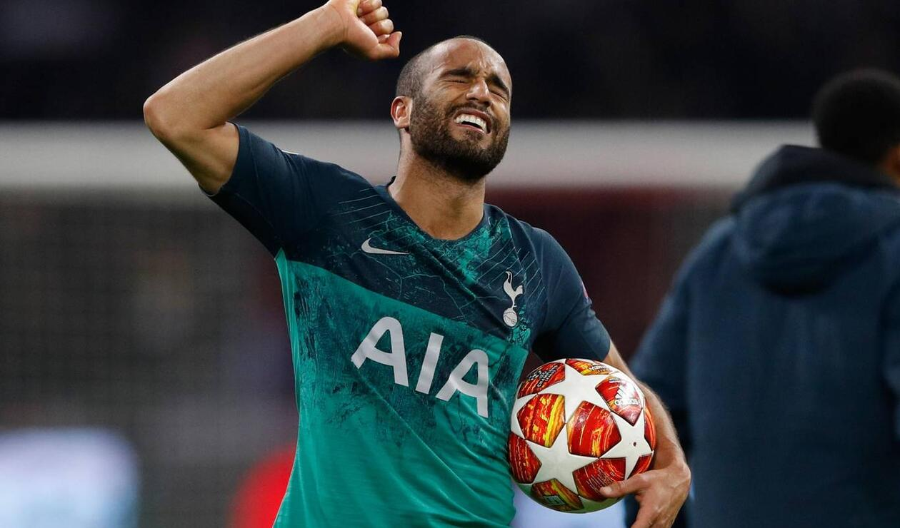 Lucas Moura, el salvador del Tottenham ante Ajax en la Champions