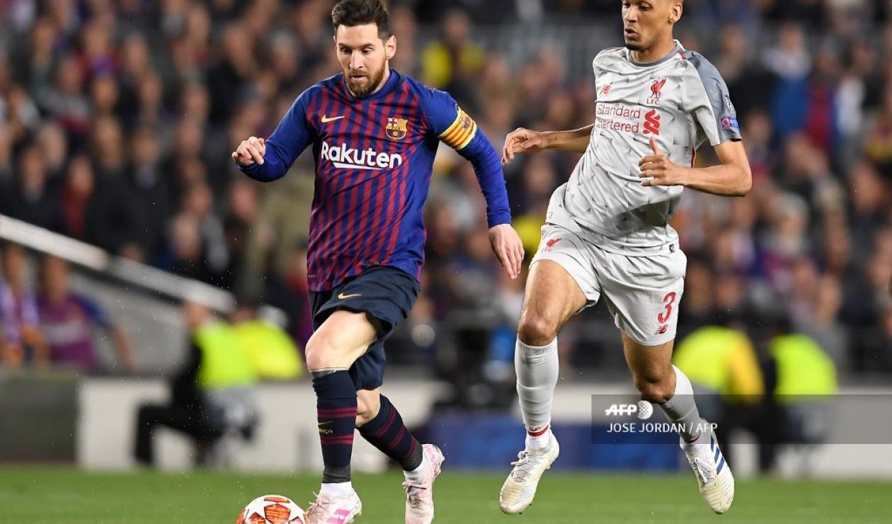 Lionel Messi espera guiar a Barcelona a la final de la Champions League.