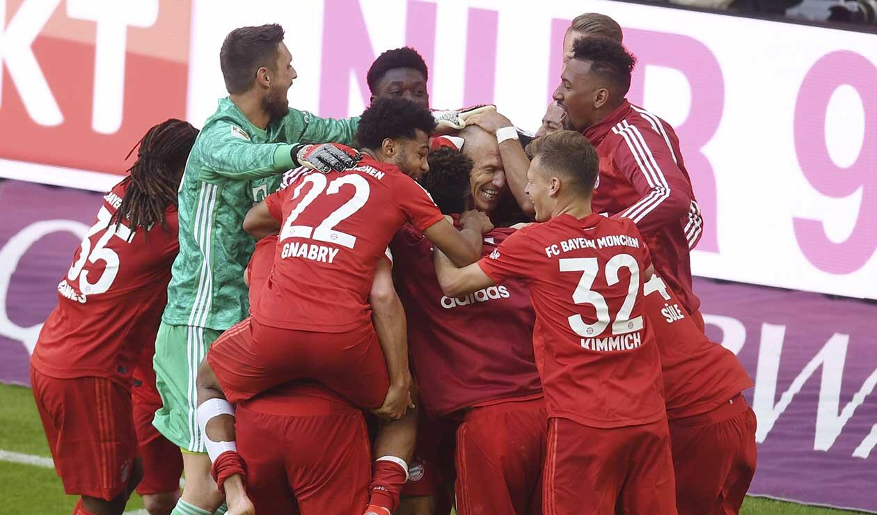 Bayern Múnich, campeón de la Bundesliga