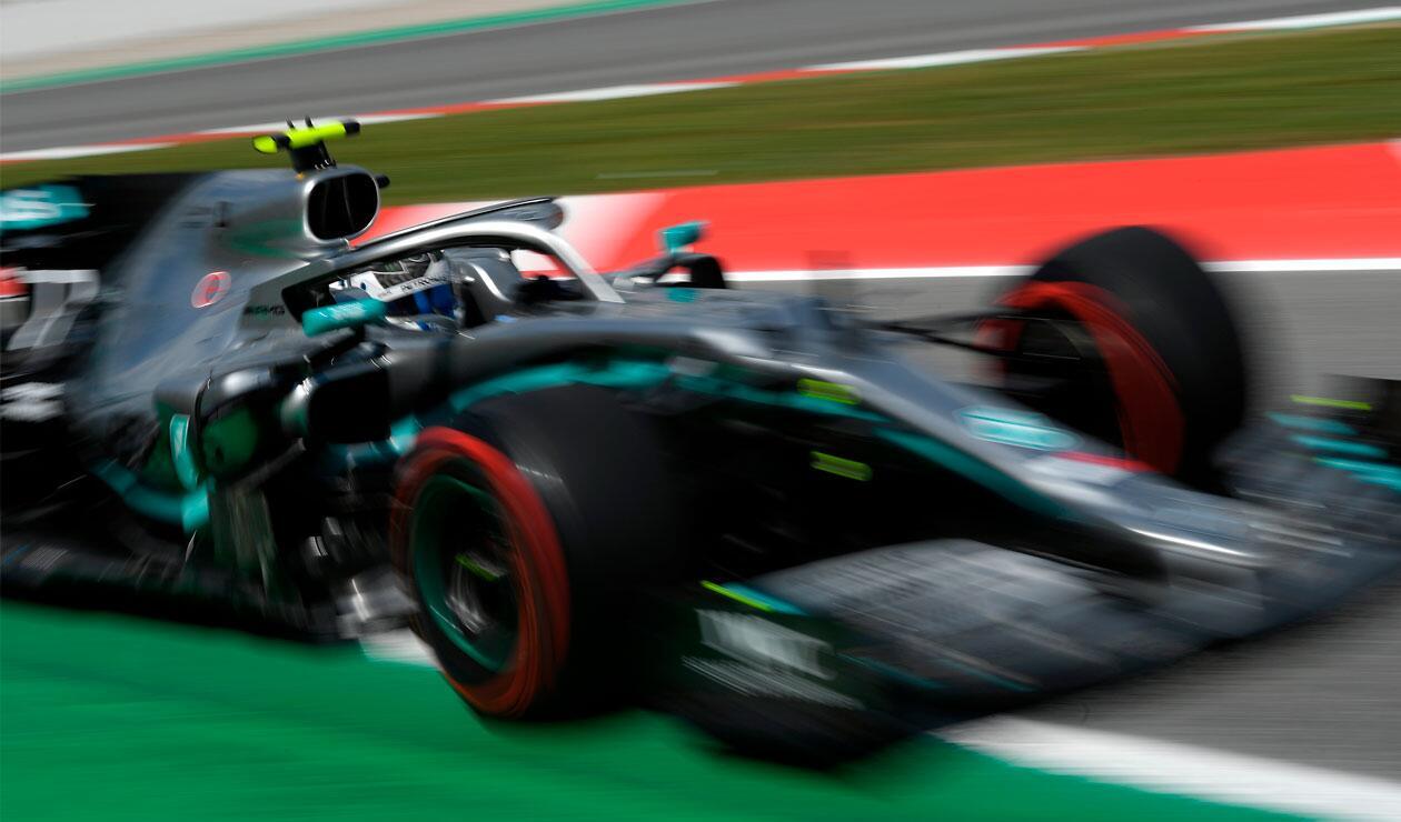 Valtteri Bottas en los entrenamientos del Gran Premio de España de Fórmula 1