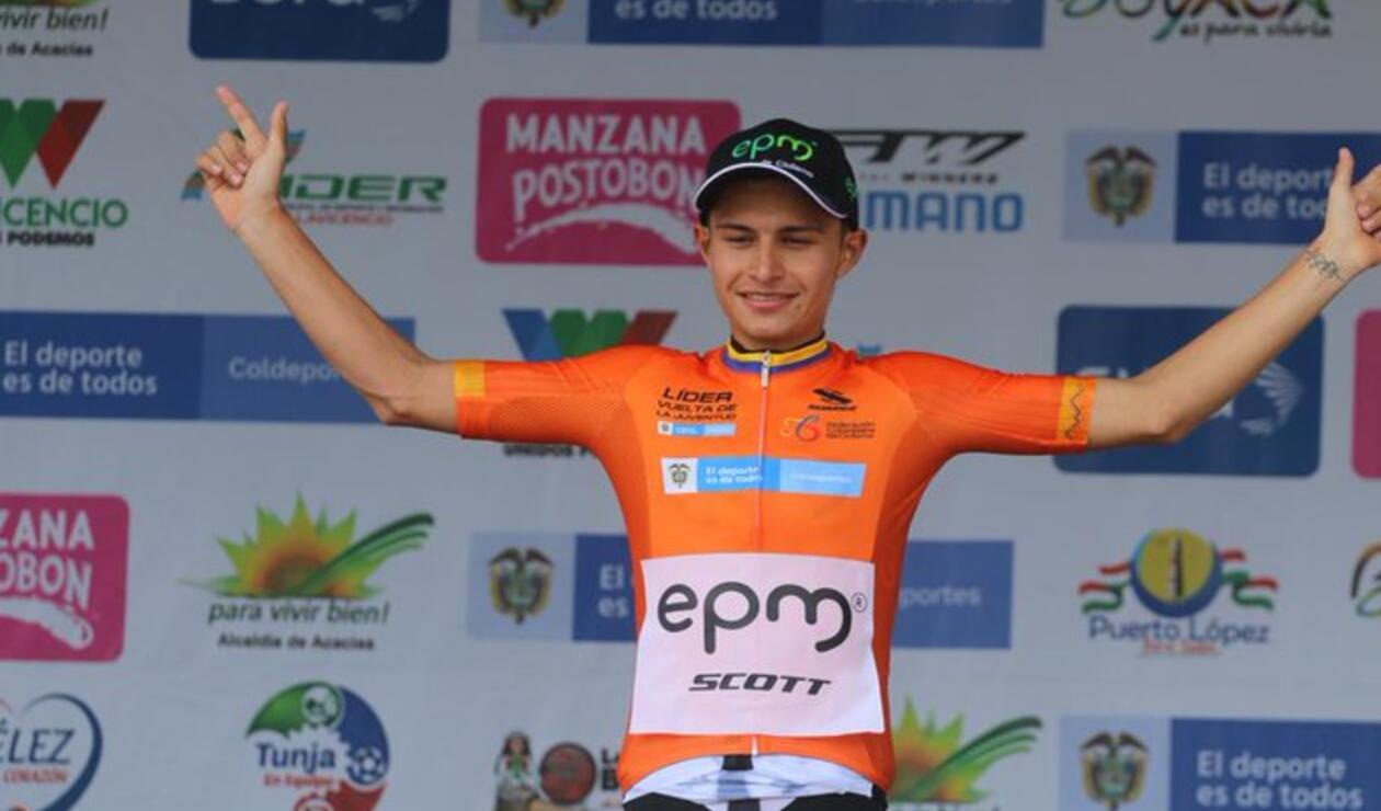 Camilo Ardila, nuevo líder de la Vuelta de la Juventud