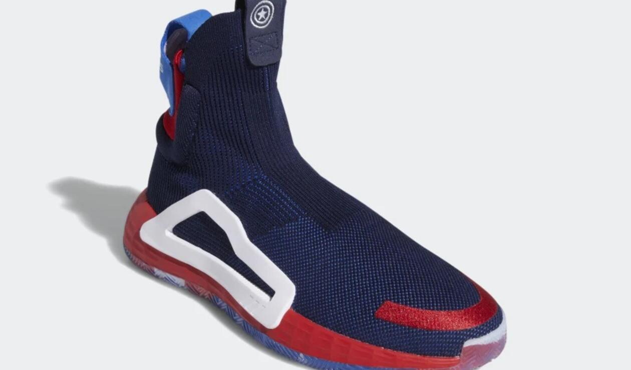 Zapatillas de Adidas del Capitán América