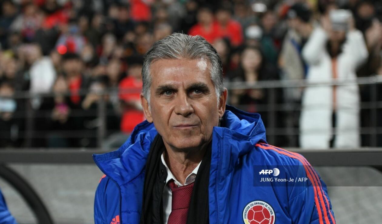 Carlos Queiroz, DT de Colombia