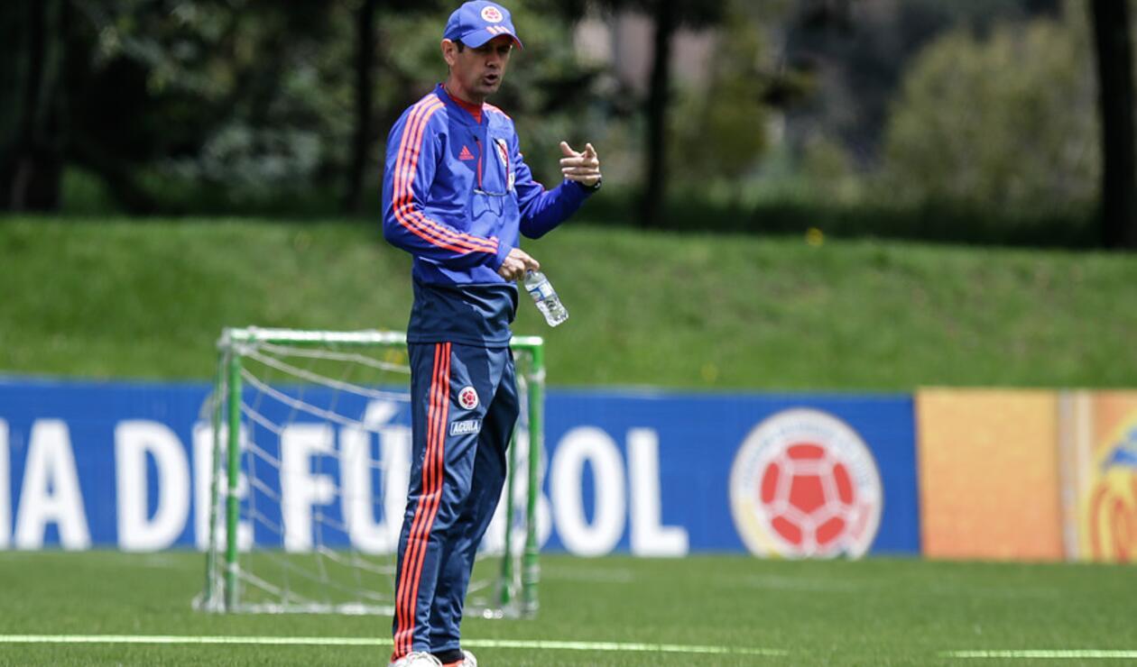 Arturo Reyes - Técnico de la Selección Colombia Sub 20
